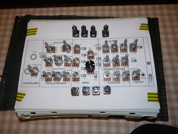 Arduino 4 X 4051 Multiplexer 28 Pots Midi Controller